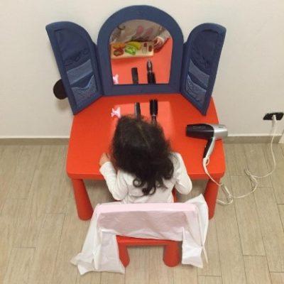 """""""COME SE FOSSI…"""": simulazione di situazioni di vita reale (parrucchiere, dentista, dottore…)"""